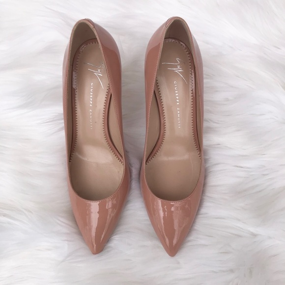 d70fb3f931 Giuseppe Zanotti Shoes | Patent Leather Pointedtoe Pump | Poshmark